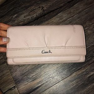 Baby Pink Coach Wallet